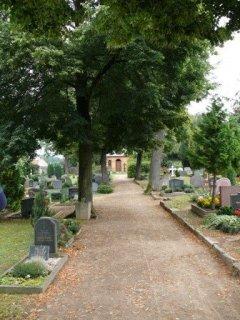 Ansicht Friedhof Langebrück