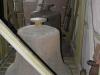 Die Stahlglocken während der Sanierung des Glockenturms